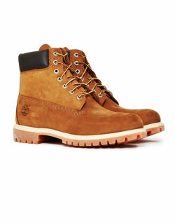 TIMBERLAND 6 inch Mens Premium Boot Dark Tan