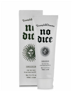 TRIUMPH & DISASTER No Dice Sunscreen SPF50 100ml