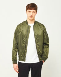 The Idle Man Bomber jacket Green men