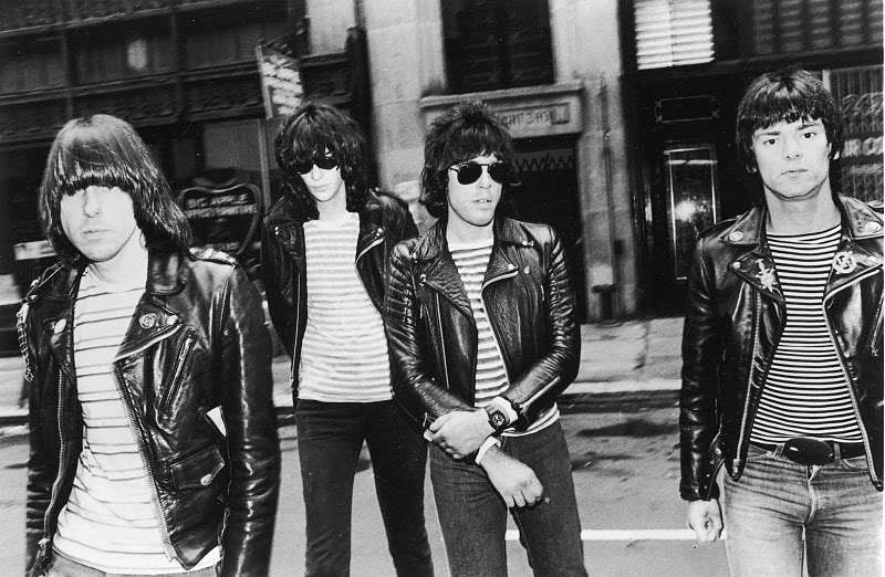 The Ramones in the Perfecto