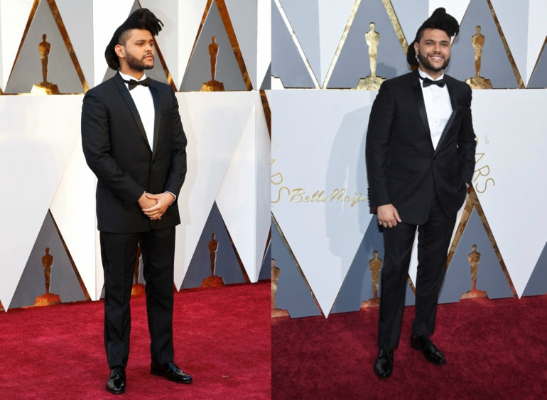 The Weeknd Suit Mens Style white Shirt