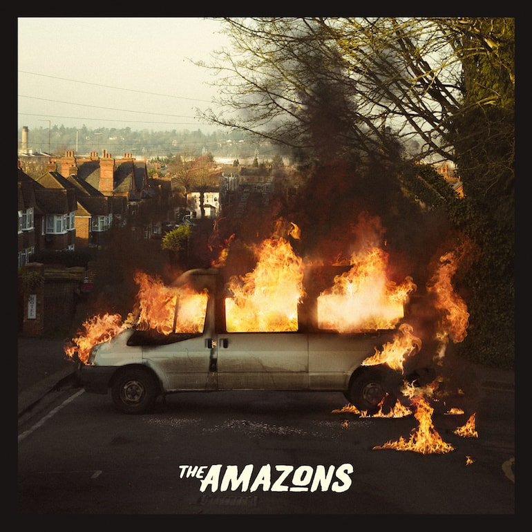 mens street style The Amazons Debut Album Cover