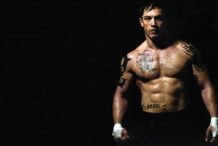 Tom Hardy build muscle get ripped fast
