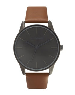 Unknown Classic Grey and Brown Watch
