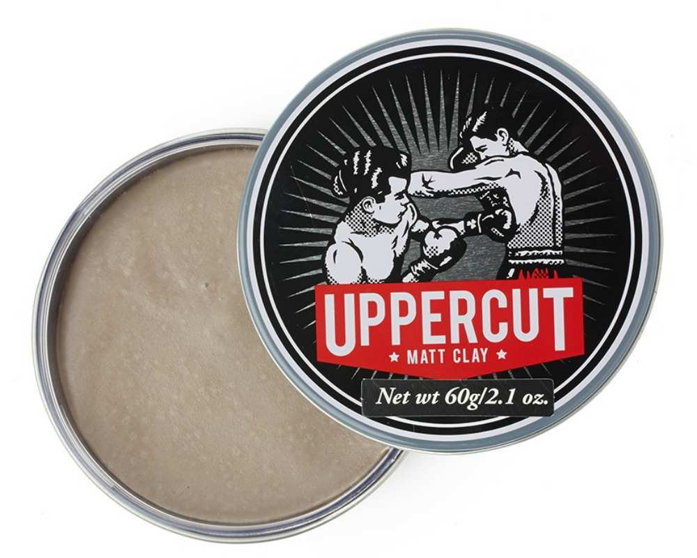 Uppercut matt clay hair men