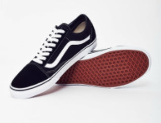 vans old skool trainers black classic