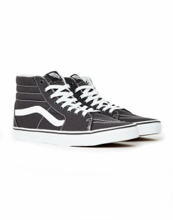 VANS SK8-Hi Canvas Trainers Grey mens