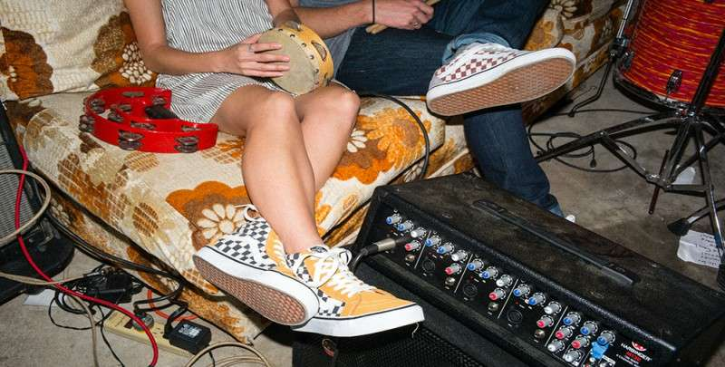 VANS checkerboard mens woman street style how to lace vans