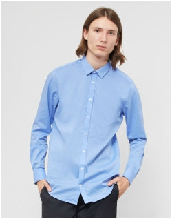 VITO Solo Shirt Light Blue Mens