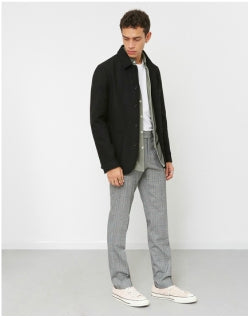 WAX LONDON Elland Jacket Black Mens