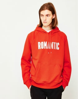 WOOD WOOD Mens Fred Hoodie Red