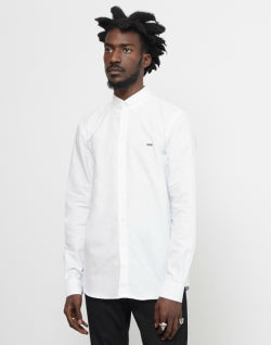 WOOD WOOD Mens Timothy Shirt White