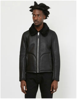YMC Budgie Jacket Black Mens