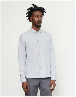 YMC Curtis Shirt Blue Mens