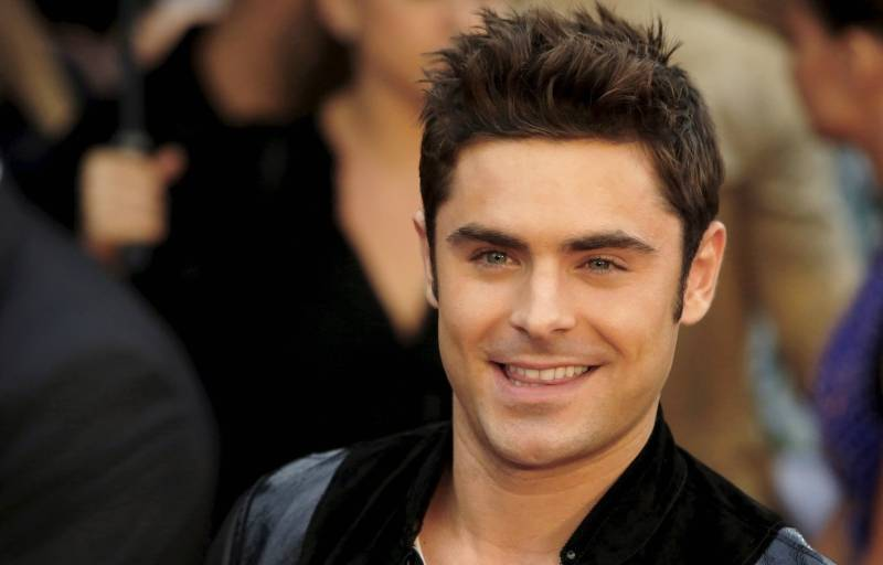 Zac Efron Spikey Hair