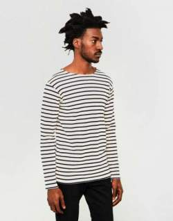 amor lux long sleeve top striped the idle man