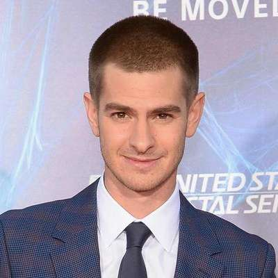 andrew garfield buzzcut for men