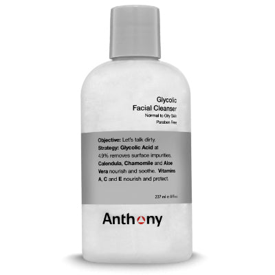 anthony glycolic face cleanser