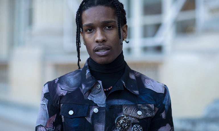 asap rocky dior homme men