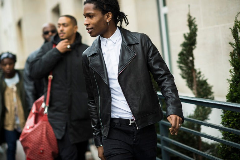 asap rocky leather jacket