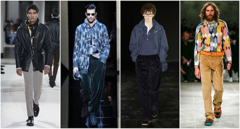 autumn winter 2017 trends mens corduroy