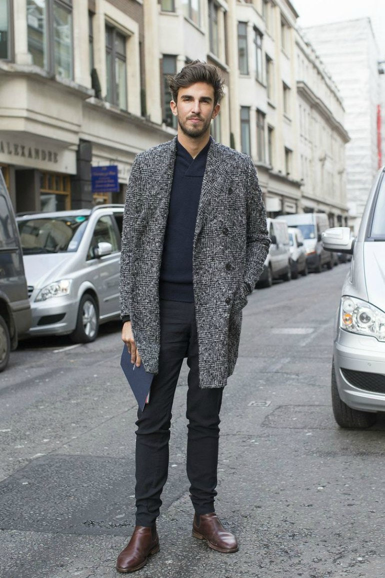 black-jeans-brown-shoes-overcoat