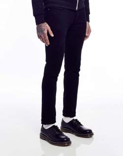 idle man black jeans mens