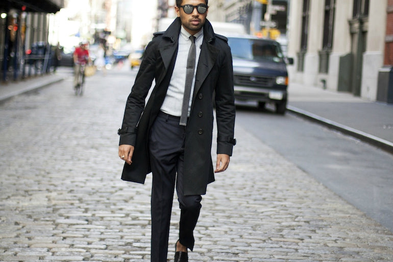 black-trench-coat-mens-fashion-suit-style