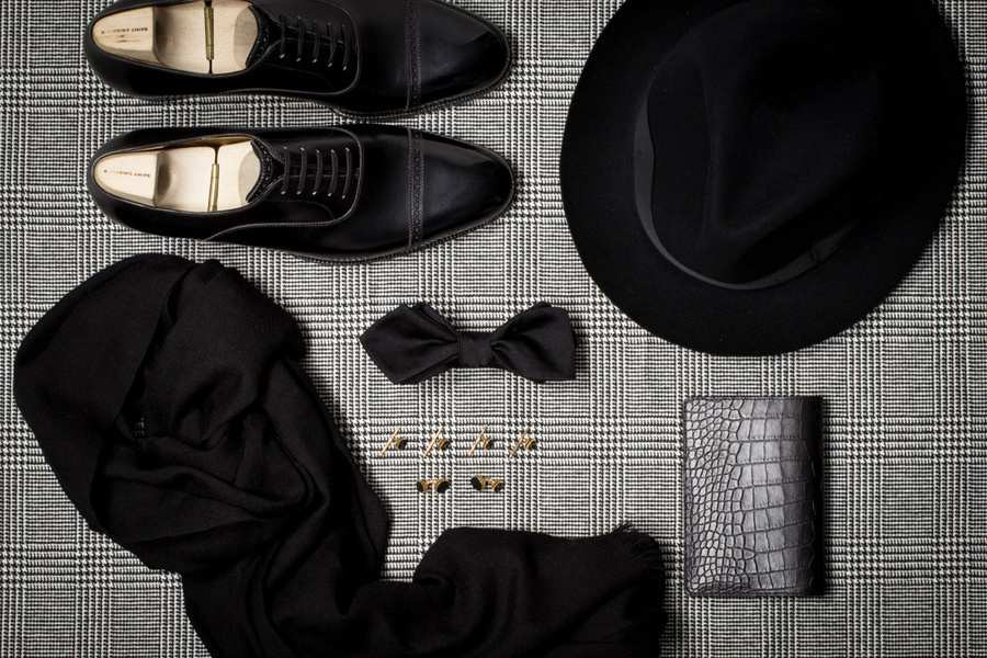 black_tie_flat_lay_shoes_bow_tie_formal_mens