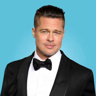 brad pitt mens slick back undercut 2014 hair style for men