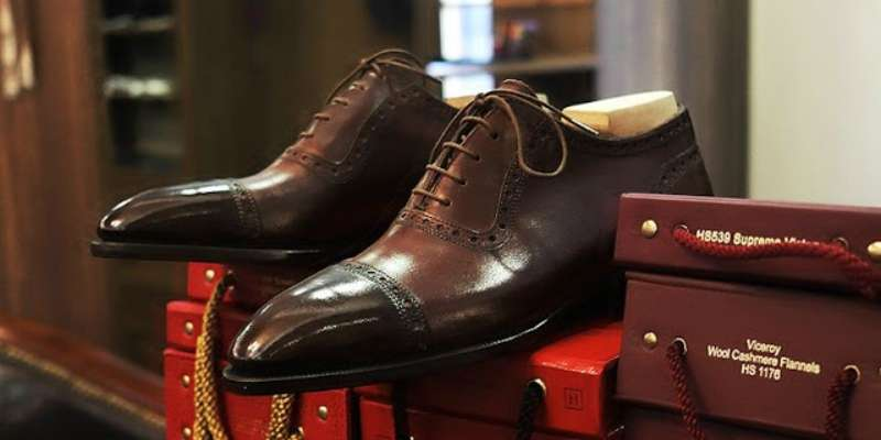 brogue how to lace shoes
