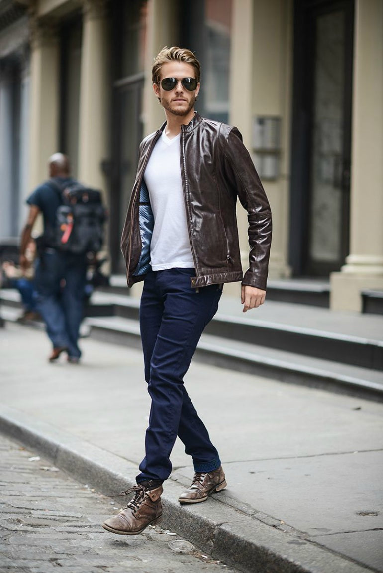 brown-leather-jacket-mens-street-style-jeans-boots