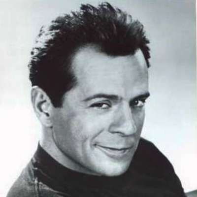 bruce willis young hair