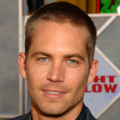 paul walker buzzcut hair