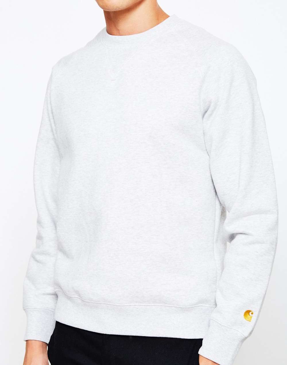 carhartt grey mens sweatshirt