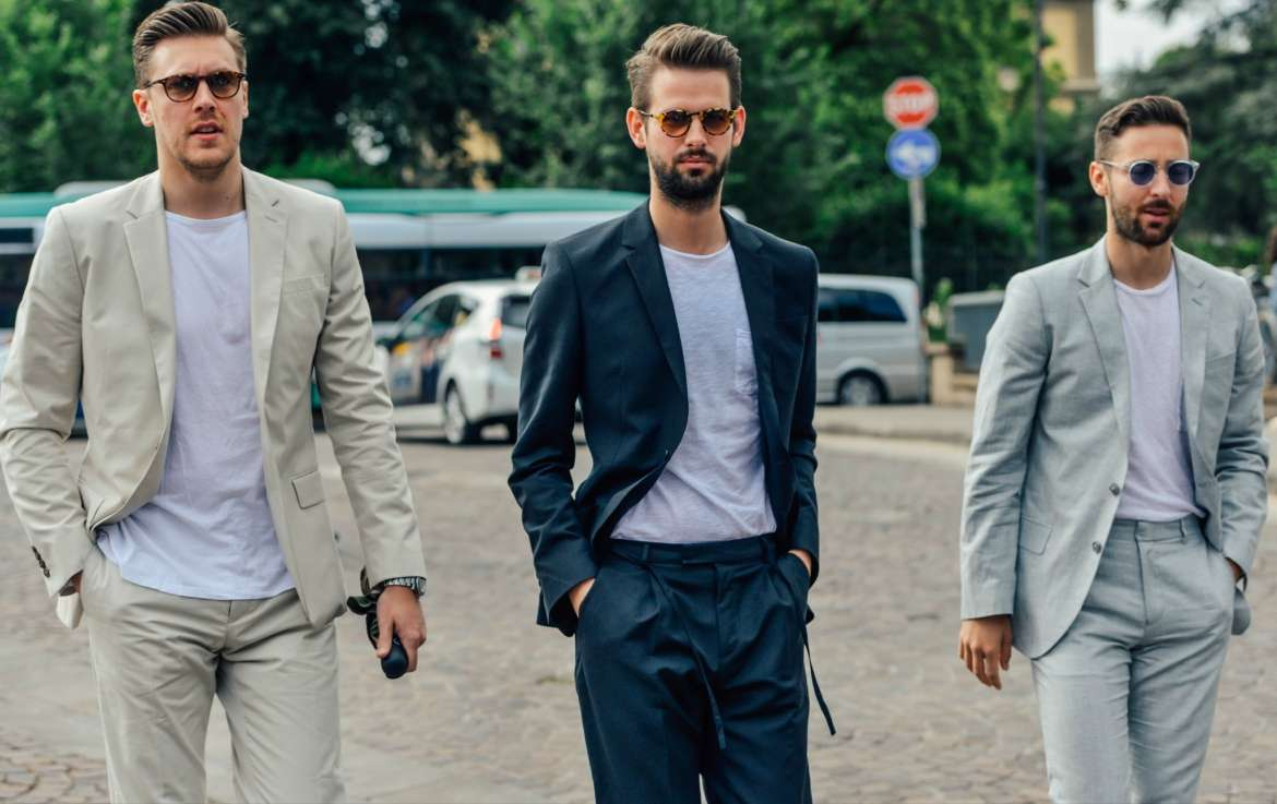 casual blazers for men street style