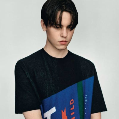 center parting haircut men