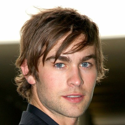 chace crawford medium hairstyle for men
