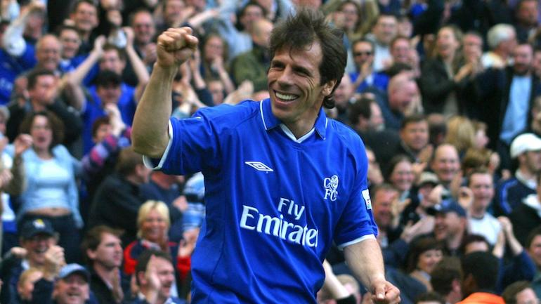 chelsea 2002 kit gianfranco zola football