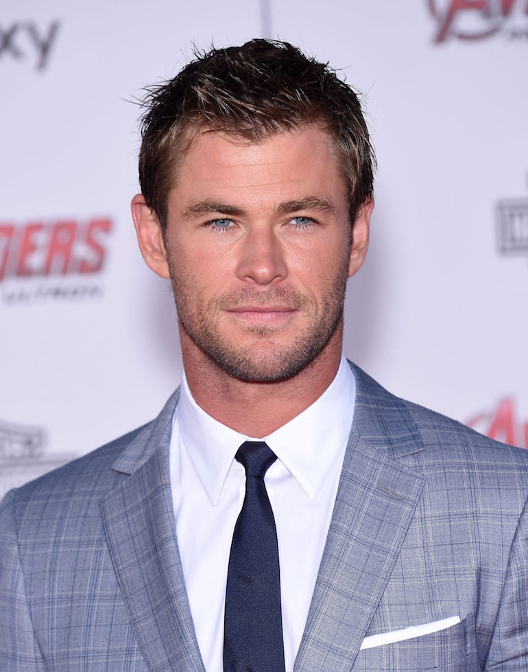 chris hemsworth cowlick mens