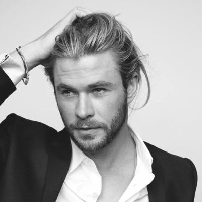 chris hemsworth long thick hair for men