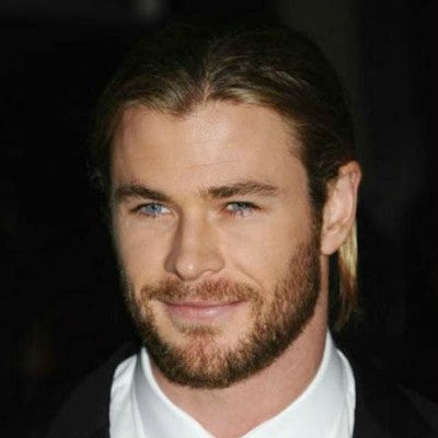 chris hemsworth mens round face beard
