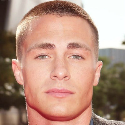 colton haynes induction cut number 4 buzz cut