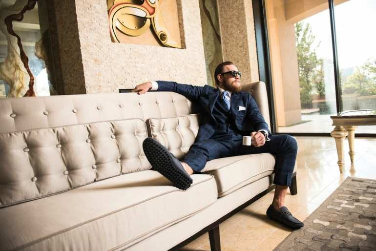 conor mcgregor suit mens street style