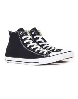 converse chuck taylor all star hi top plimsolls black mens fashion
