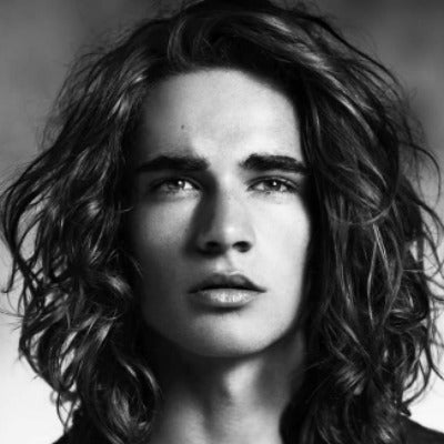 curly hairstyles for men long hair