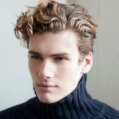 curly-short-fringe-mens hairstyle-men-1