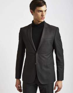 mens dark grey suit jacket
