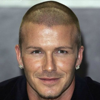 david beckham buzzcut for men