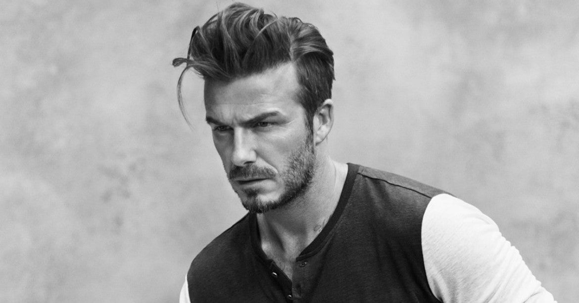david beckham pompadour for men